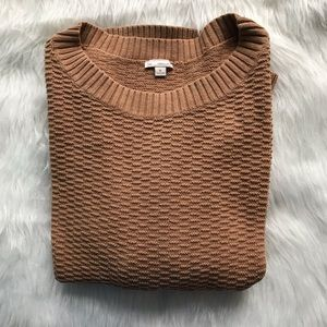 GAP XL Camel Colored Sweater